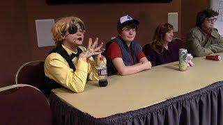 Gravity Falls Panel 1/3