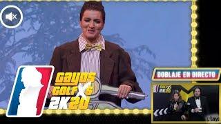 ¡El doblaje más faltón de Los Goya 2020! CON GRISON Y CARAVA | GAYOS GOLFXS