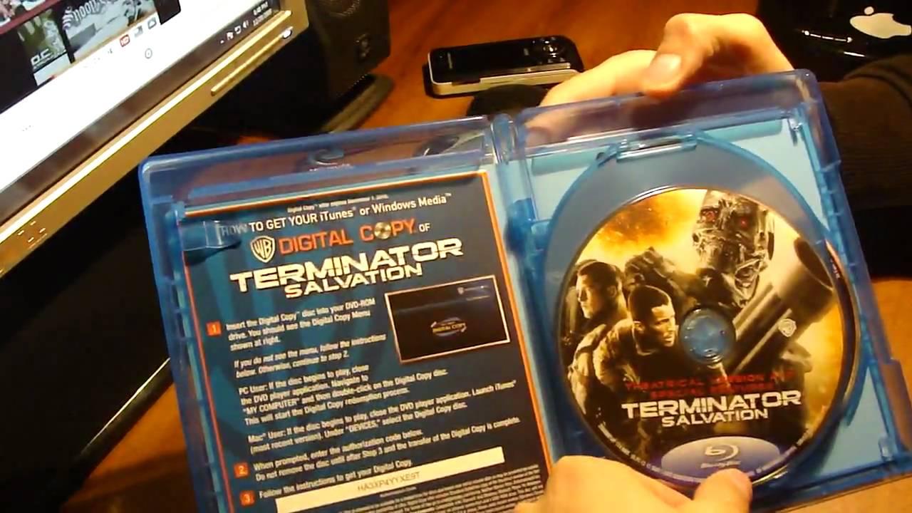Download Terminator Salvation on Blu ray
