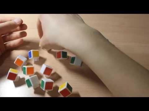 Как разобрать кубик рубик на части