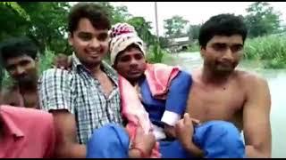 वर-वधू ले रहे थे सात फेरे, गांव में घुस गया गंडक का पानी, ऐसे करनी पड़ी विदाई