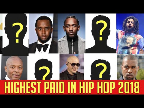 Top Highest Paid Hip Hop Artist 2018 Forbes Richest Rapper list  - Eminem Killshot [official audio]