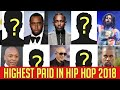 Top Highest Paid Hip Hop Artist 2018 Forbes Richest Rapper list - Eminem Killshot [official audio]