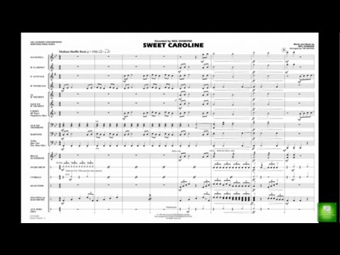 Sweet Caroline by Neil Diamond/arr. Tim Waters