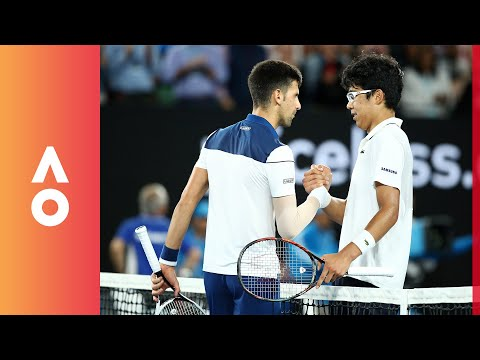 Defeating your idol: How Chung beat Djokovic | Australian Open 2018