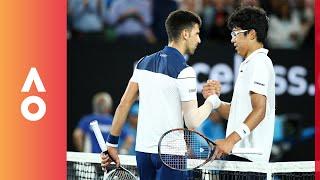 Defeating your idol: How Chung beat Djokovic | Australian Open 2018