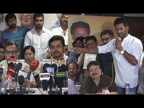 vijayakanth latest press meet invitation
