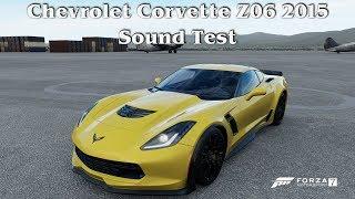 Forza Motorsport 7 (PC) | Chevrolet Corvette Z06 2015 | Sound Test | 1440p60FPS