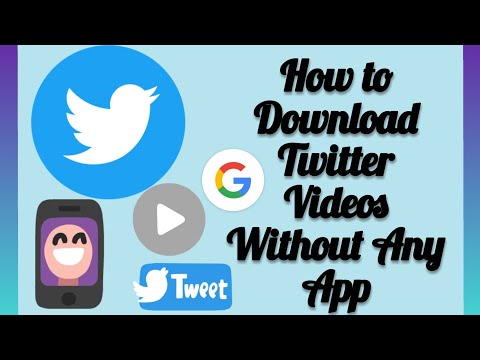 How To Download Twitter Video Without Any App On Android/ IOS   2020 Edition.