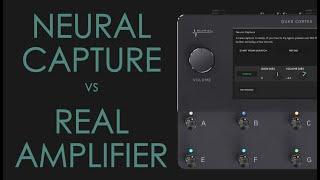 QUAD CORTEX | Neural Capture vs Real Amplifier