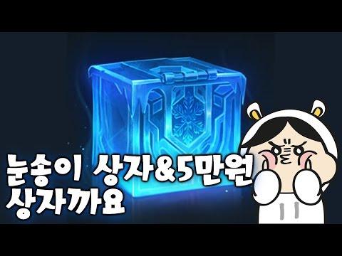 Snowdown Chest & Opening $50 box [TteokHoTteok, LoL]