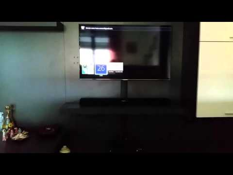 Samsung UE40H7000 with Soundbar Sony HT-CT380 source problem