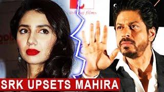 Pakistani Actress Mahira Khan UPSET With Shahrukh Khan | Raees Promotions | Raees Movie Screening