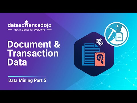 Document & Transaction Data   Introduction To Data Mining Part 5