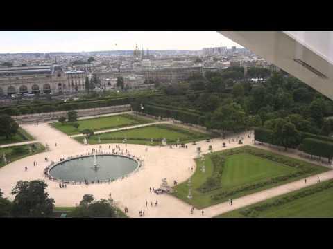 นั่งชิงช้าสวรรค์ที่ Amusement Park @Tuileries Garden-Jardin Des Tuileries.