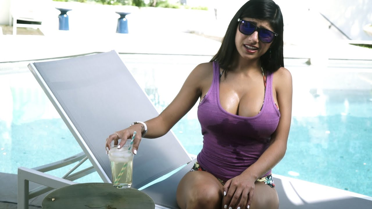Amazing tits mia khalifa getting hammered hard by bbc - 4 3