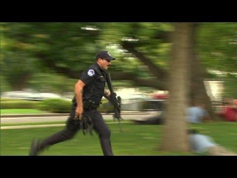 Capitol Hill: Scenes of panic