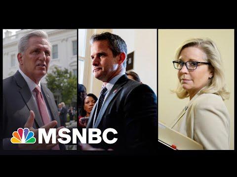 'Pelosi Republicans': McCarthy Blasts Select Cmte.'s GOP Members