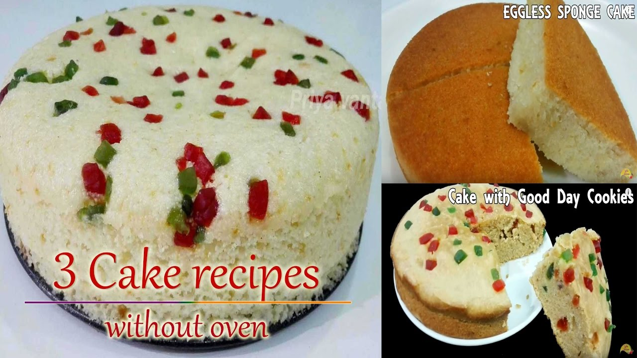 3 easy cake recipes without oven priya youtube forumfinder Images