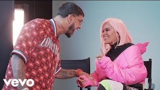 Karol G Dices Que Te Vas Official Vídeo Feat Anuel Aa
