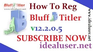 BluffTitler v12.2.0.5 New Latest 2016