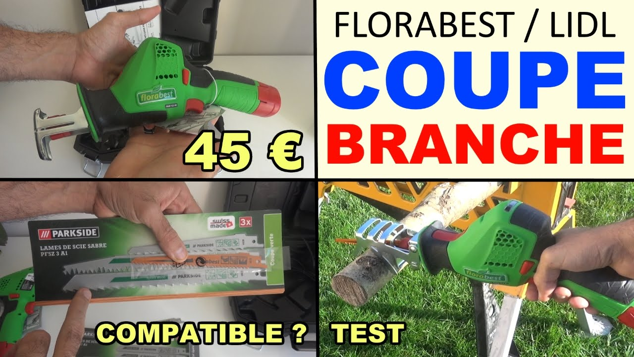 coupe branches florabest lidl faas 10 8 a2 cordless pruning saw youtube. Black Bedroom Furniture Sets. Home Design Ideas
