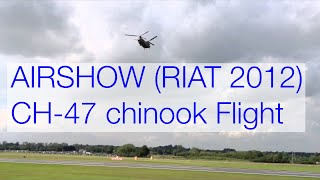 Boeing Chinook display at RIAT 2012 (Air Show) Crazy Performance ! ...