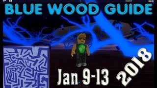 ROBLOX Holz Tycoon Blue Wood Maze Guide 2018 9. Januar