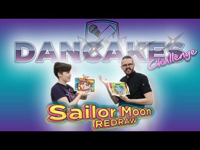 PROFESSIONAL PANCAKE ARTISTS REDRAW SAILOR MOON | Dancakes Challenge