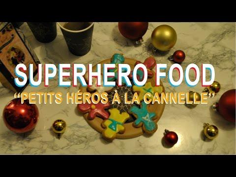 """[superhero-food]-""""petits-héros-à-la-cannelle"""""""
