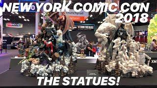 New York Comic Con 2018: The Statues!