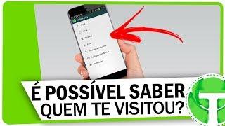 É possível saber QUEM VISITOU SEU PERFIL no WhatsApp? Descubra neste vídeo!