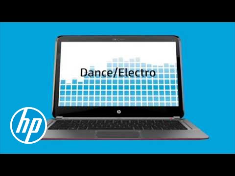 HP Connected Music - Screensaver