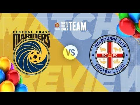 Central Coast Mariners vs Melbourne City | Live HD