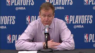 Terry Stotts Postgame Interview - Game 5 | Blazers vs Nuggets | 2019 NBA Playoffs