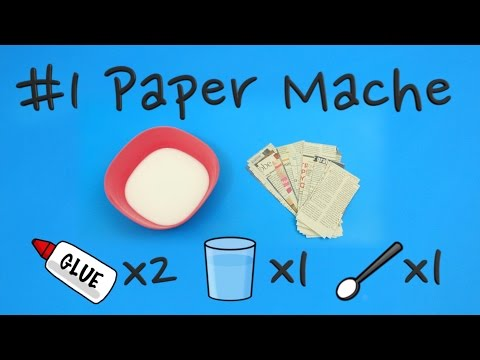 How to make Paper Mache   Pop'n'Olly   Olly Pike