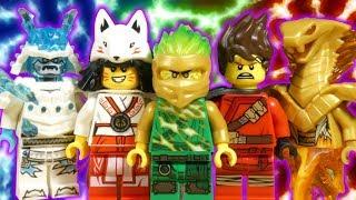 LEGO NINJAGO FORBIDDEN SPINJITZU - PART 2 - BLIZZARD SAMURAI AWAKEN