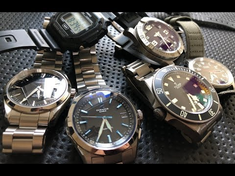 The Nick Shabazz Watch Collection (August 2018)