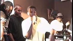 Kanye West, Al Tariq, Butter Lee & Black Attack @ Fat Beats Aug 96 (Extended Clip)