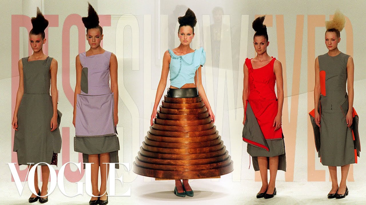Why Hussein Chalayan's Fall 2000 Show was the Best Show Ever