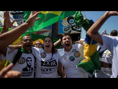 Jair Bolsonaro Wins First Round of Brazilian Presidential Elections!!!