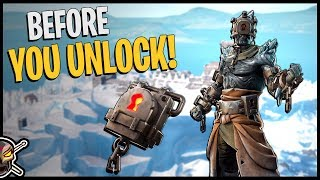 The Prisoner Gameplay and Back Bling Combos - Fortnite Snowfall Challenges