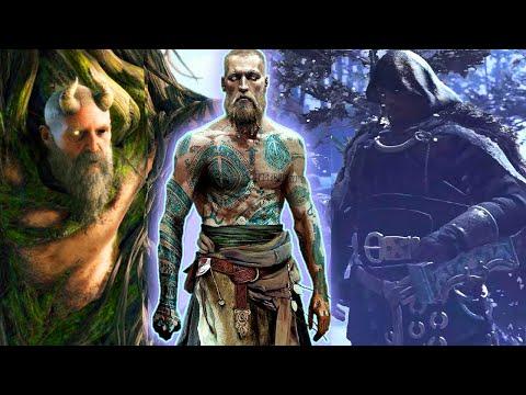 God of War 4  Mimir Head True Identity Revealed PS4 2018