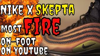 2c0bc30a0877 Nike x Skepta Air Max 97  Sickest On Feet On YouTube + Review