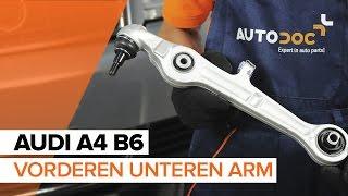 Wie und wann Fahrwerksfedern hinten + vorne AUDI A4 (8E2, B6) auswechseln: Video-Anleitung