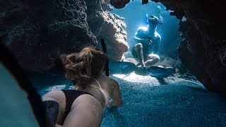Freediving With The Girls & Spearfishing With The Boys On Remote Islands - Ep 171
