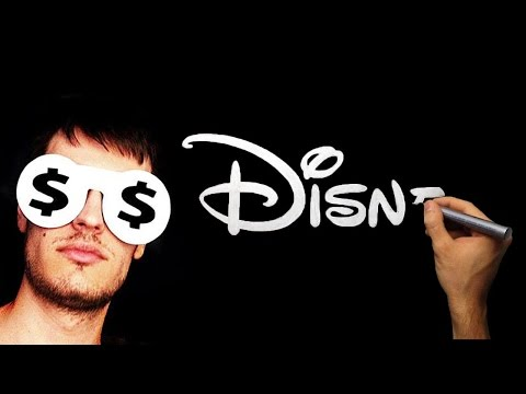 Satisfying Video - Silver Drawing - How To Draw Silver Disney Logo Cartoon