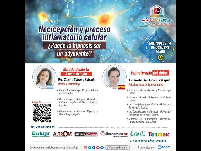 Nocicepción Y Proceso Inflamatorio Celular  ¿Puede la hipnosis ser un adyuvante 360p