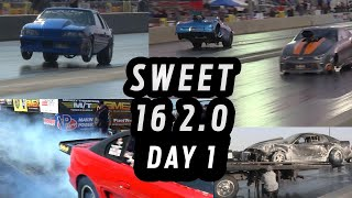Radial Drag Racing - Sweet 16 2.0 - Day 1 of Qualifying
