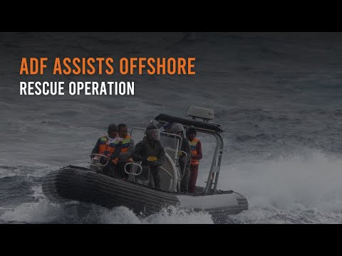 ADF assists offshore rescue operation
